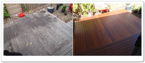 Timber landing restoration before & after