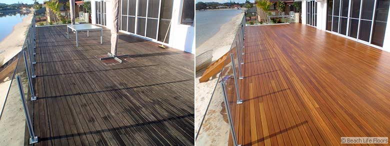 Beachside deck restoration